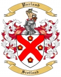 Parland Family Coat of Arms from Scotland1
