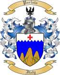 Parlata Family Crest from Italy