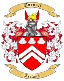 Parnall Family Crest from Ireland
