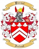 Parnel Family Coat of Arms from Ireland
