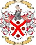 Partlin Family Coat of Arms from Scotland