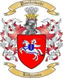 Pasikowski Family Coat of Arms from Lithuania