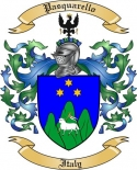 Pasquarello Family Crest from Italy