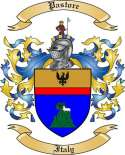 Pastore Family Coat of Arms from Italy