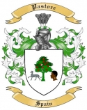 Pastore Family Coat of Arms from Spain