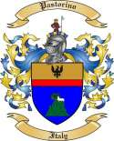Pastorino Family Crest from Italy