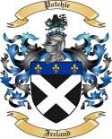 Patchie Family Crest from Ireland
