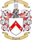 Pate Family Crest from England