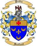 Pattin Family Crest from Scotland