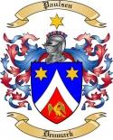 Paulsen Family Crest from Denmark