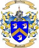 Paulson Family Crest from Scotland