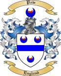 Paw Family Coat of Arms from England