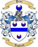 Pawe Family Crest from England