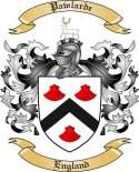 Pawlarde Family Coat of Arms from England