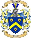 Payhani Family Crest from France