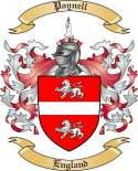 Paynell Family Coat of Arms from England