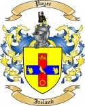 Payze Family Crest from Ireland
