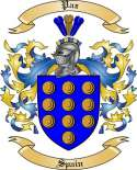 Paz Family Coat of Arms from Spain