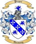 Peaper Family Crest from Germany