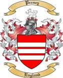 Peasey Family Coat of Arms from England