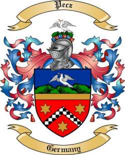 Pecz Family Coat of Arms from Germany