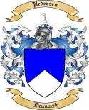 Pedersen Family Crest from Denmark