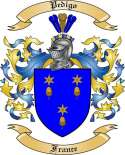 Pedigo Family Coat of Arms from France