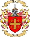 Pedrez Family Crest from Spain2