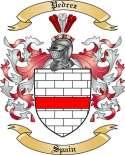 Pedrez Family Crest from Spain
