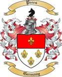 Peers Family Crest from Germany