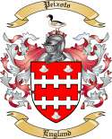 Peixoto Family Crest from England