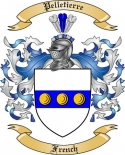 Pelletierre Family Crest from France2