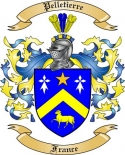 Pelletierre Family Crest from France