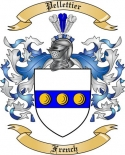 Pellettier Family Coat of Arms from France2