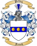 Pelltey Family Crest from France2