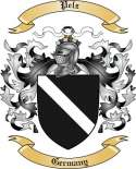 Pelz Family Coat of Arms from Germany
