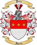 Pena Family Coat of Arms from Spain