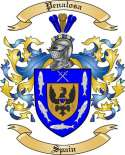 Penalosa Family Crest from Spain