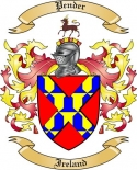 Pender Family Coat of Arms from Ireland