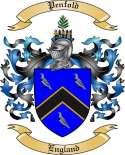 Penfold Family Crest from England