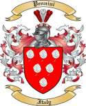 Pennini Family Coat of Arms from Italy2