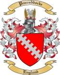 Penruddocke Family Coat of Arms from England
