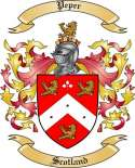 Peper Family Crest from Scotland