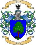 Pera Family Crest from Italy