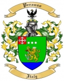 Peranzo Family Coat of Arms from Italy