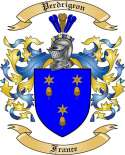 Perdrigeon Family Crest from France