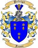 Perdriget Family Coat of Arms from France