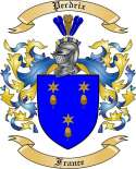 Perdrix Family Crest from France