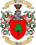 Pereira Family Coat of Arms from Spain