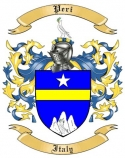 Peri Family Coat of Arms from Italy